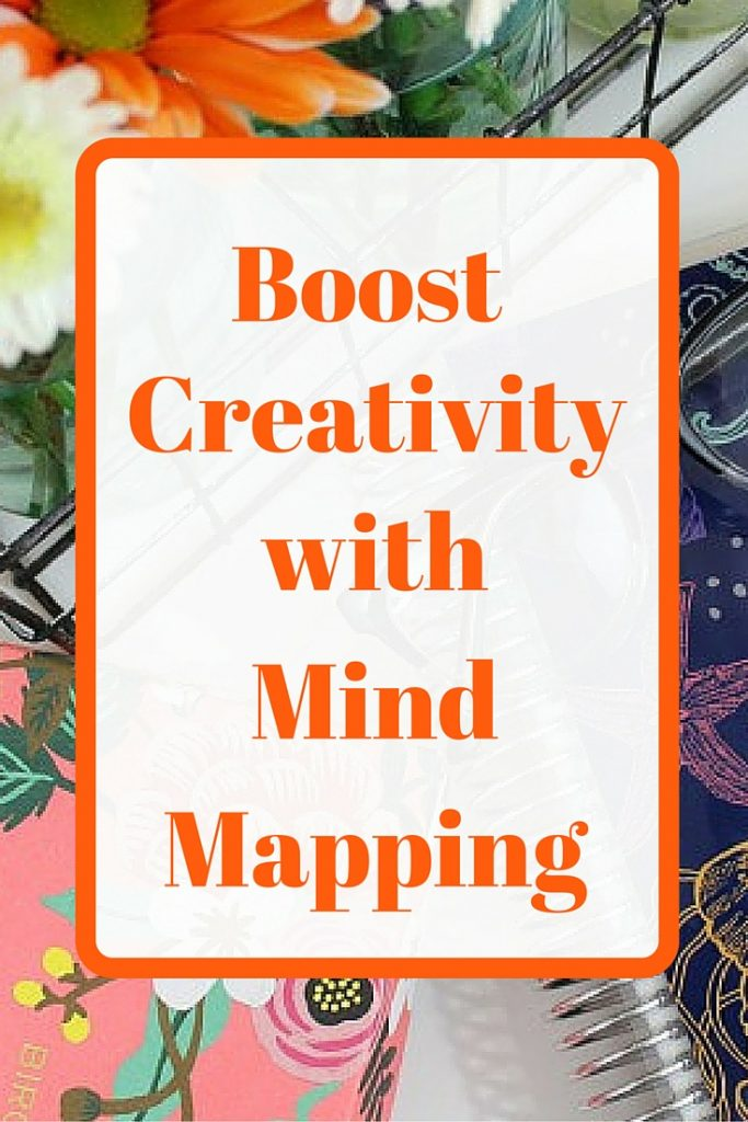 How to boost your creativity with mind mapping. It's really easy. Click through to read more.