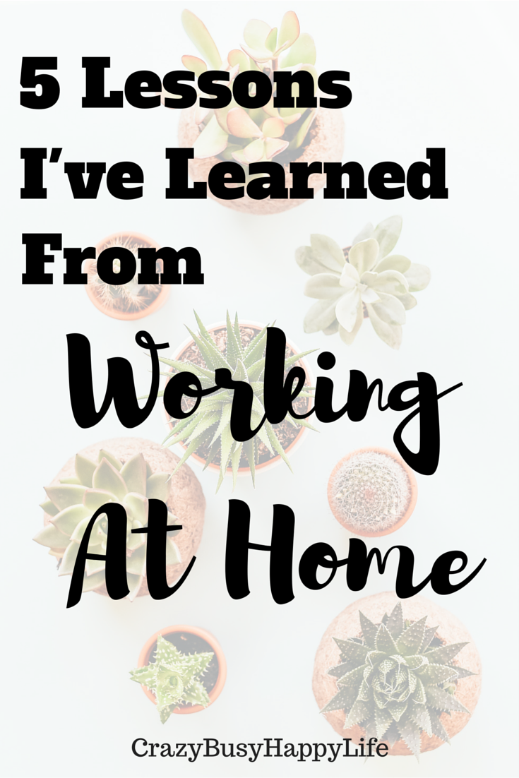 Working from Home is awesome. Here are a few things I've learned from the experience. It will help if you are thinking about working at home too! Click to read more or pin now and read later.