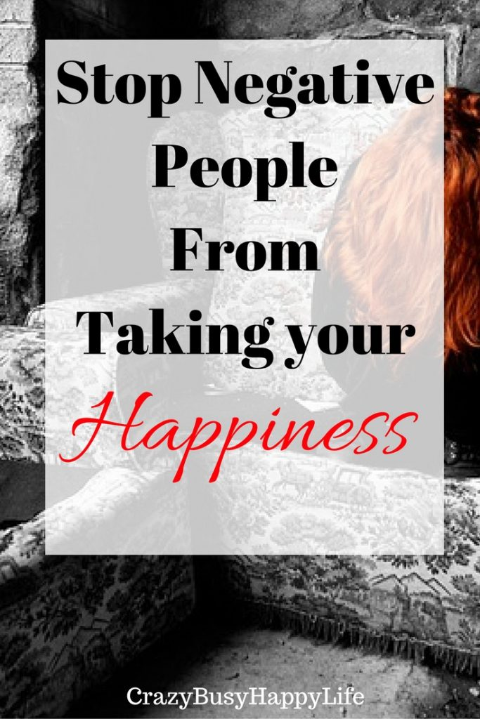 "Are negative people sucking the happiness out of you? They may be what are called ""psychic vampires."" Learn to set boundaries and keep them out of your life."