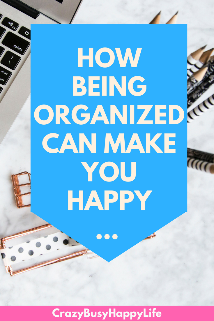 I don't know about you but I just FEEL better when I'm in a clean and organized space. Today on the Happy in 31 Challenge we are discussing organizing to increase happiness. Click through to read more.