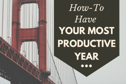 How to Have Your Most Productive year with free workbook
